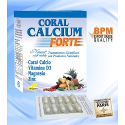 CORAL CALCIUM FORTE * 30 CAP Natural Freshly