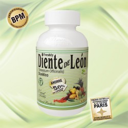 DIENTE DE LEON 400 MG * 50 CAP LLEVE 100  Natural Freshly