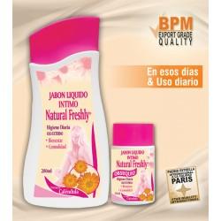 JABON LIQUIDO INTIMO DE CALENDULA * 280 ML Natural Freshly