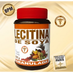 LECITINA DE SOYA GRANULADA * 300 GR.Natural Freshly
