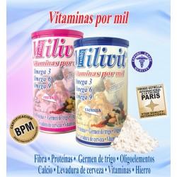 MILIVIT MALTEADA CON OMEGA 3-6-9 *400 GR.Natural Freshly