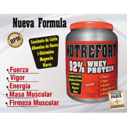 NUTREFORT WHEY PROTEIN *800 GR. NATURAL FRESHLY