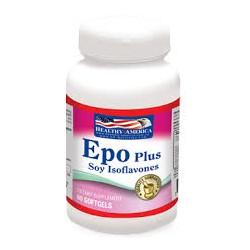 EPO PLUS ( SOY ISOFLAVONAS ) 60 SG * HEALTHY AMERICA
