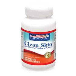 CLEAN SKIN 100 TAB *HEALTHY AMERICA