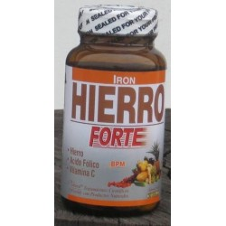 HIERRO+ACIDO FOLICO 50 CAP * NATURAL FRESHLY
